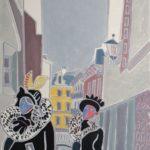 Le couple baroque Peinture de Henri LANDIER 2019 100x65 cm Prix : 13 500 €