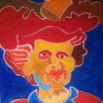 Hommage à Rembrandt Peinture de Henri LANDIER 2012 46x38 cm Prix : 6 500 € cadre ancien