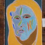 Birgitt Peinture de Henri LANDIER 2016 41x27 cm Prix : 3 900 €
