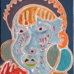 Nadja Peinture de Henri LANDIER 2016 41x27 cm Prix : 3 900 €