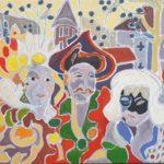 Les amis de Maastricht Peinture de Henri LANDIER 2019 65x100 cm Prix : 15 000 €