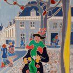 Le ménestrel Peinture de Henri LANDIER 2019 100x73 cm Prix : 14 000 €