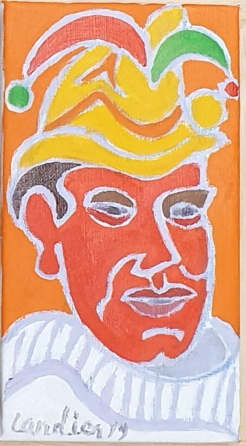 Le prince Bastien Peinture de Henri LANDIER 2019 22x12 cm Prix : 1 800 €