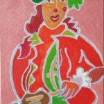 Lilly Peinture de Henri LANDIER 2019 41x27 cm Prix : 4 600 €