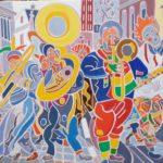La parade Peinture de Henri LANDIER 2019 89x116 cm Prix : 19 000 €