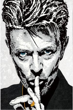 David Bowie art by Raymond Stuwe