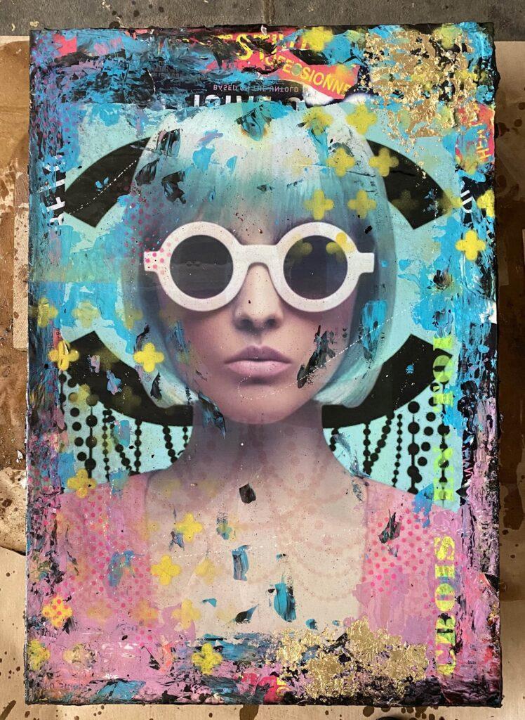 By SoSerge - Blue Hair Lady